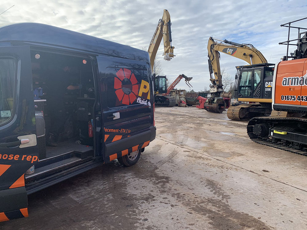 Experts in Plant Hire Hydraulics